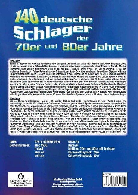 140 Deutsche Schlager Der 70er und 80er Jahre -