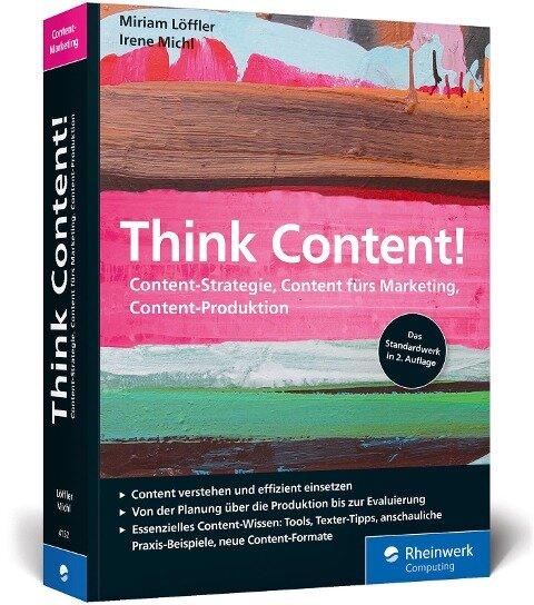 Think Content! - Miriam Löffler, Irene Michl
