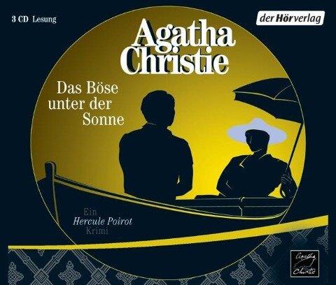 Das Böse unter der Sonne. 3 CDs - Agatha Christie