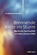 Brennende Kerze im Sturm - Gerhard Breidenstein