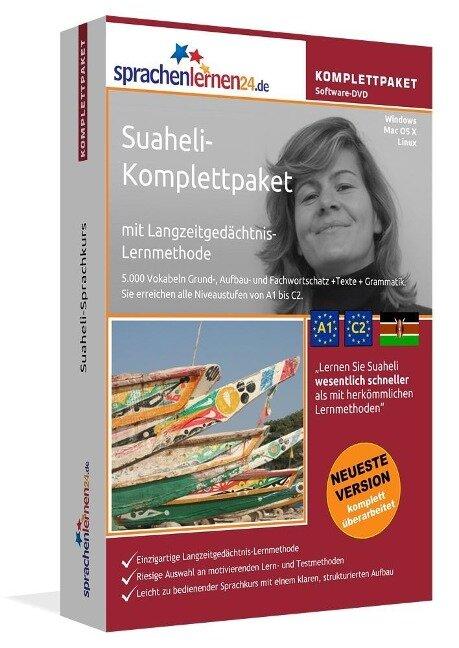 Sprachenlernen24.de Suaheli-Komplettpaket (Sprachkurs) -