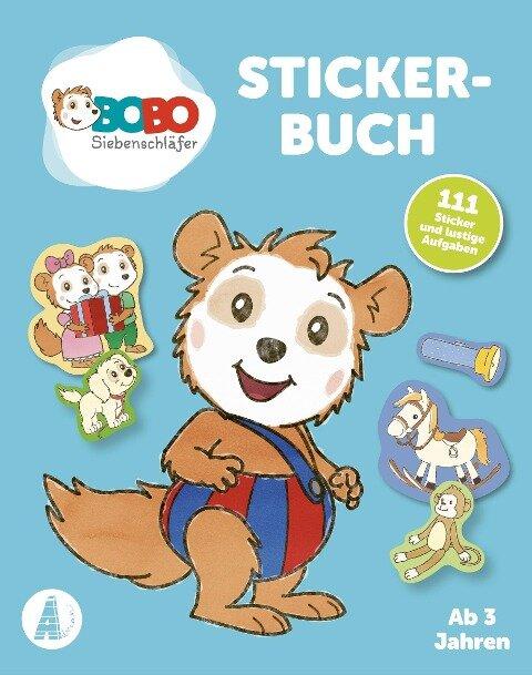 Bobo Siebenschläfer Stickerbuch - Animation Jep