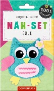 Näh-Set: Filzanhänger Eule -