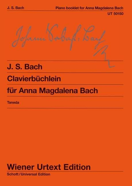 Clavierbüchlein der Anna Magdalena Bach - Christian Petzold, Johann Sebastian Bach