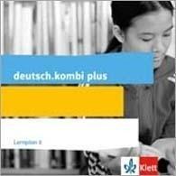 deutsch.kombi plus. Lernpläne (CD-ROM) Klasse 8. Schuljahr. Differenzierende Allgemeine Ausgabe ab 2015 -