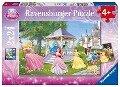 Disney: Zauberhafte Prinzessinnen. Puzzle 2 x 24 Teile -