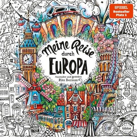Meine Reise durch Europa - Rita Berman