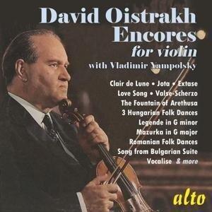David Oistrakh: Encores - Vladimir Yampolsky