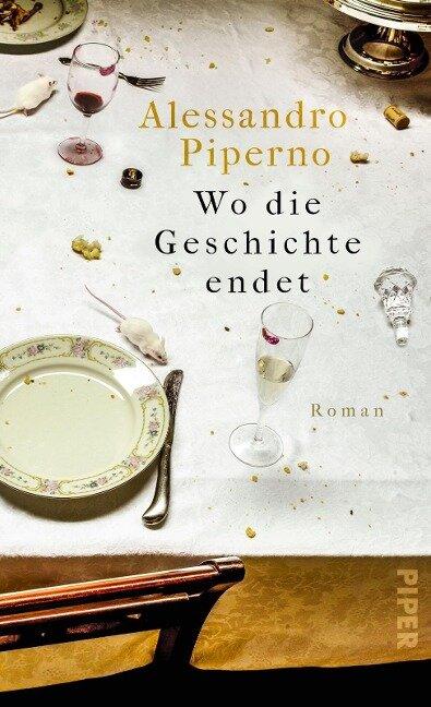 Wo die Geschichte endet - Alessandro Piperno