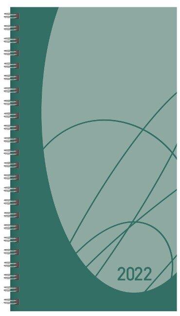Taschenkalender Modus XL Flexi Colourlux petrol 2022 -