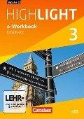 English G Highlight 3: 7. Schuljahr Hauptschule. e-Workbook auf CD-ROM -