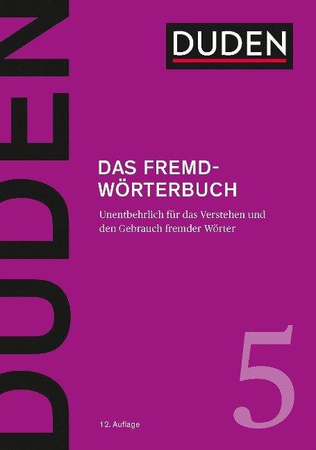 Das Fremdwörterbuch -