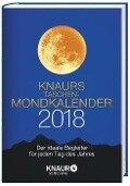 Knaurs Taschen-Mondkalender 2018 - Katharina Wolfram