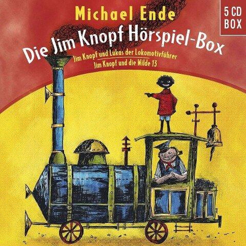 Die Jim Knopf Hörspiel-Box - Michael Ende