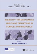 Basics Of Thermodynamics And Phase Transitions In Complex Intermetallics -