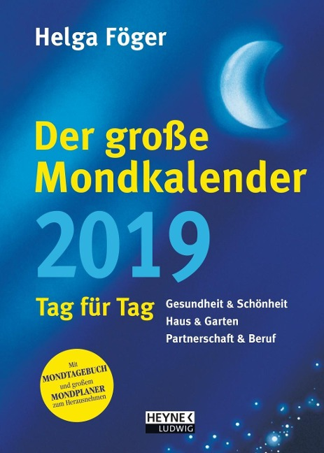 Der große Mondkalender 2019 - Helga Föger