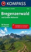 Kompass Wanderführer Bregenzerwald und Großes Walsertal - Brigitte Schäfer
