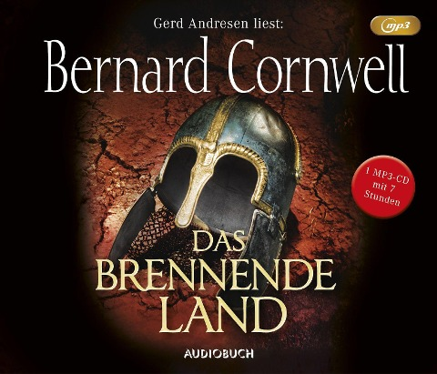 Das brennende Land (MP3-CD) - Bernard Cornwell
