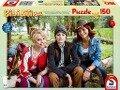 Bibi & Tina. Bibi, Tina und Adea. Puzzle zum Film 4. 150 Teile -