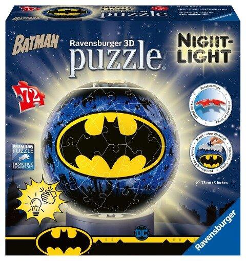Nachtlicht - Batman 3D Puzzle-Ball 72 Teile -