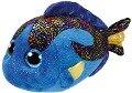 Aqua, Fisch blau 24cm -