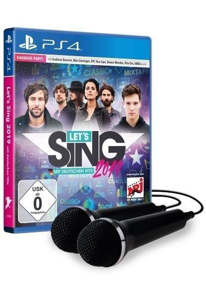 Let's Sing 2019 mit deutschen Hits [+ 2 Mikrofone] (PlayStation PS4) -