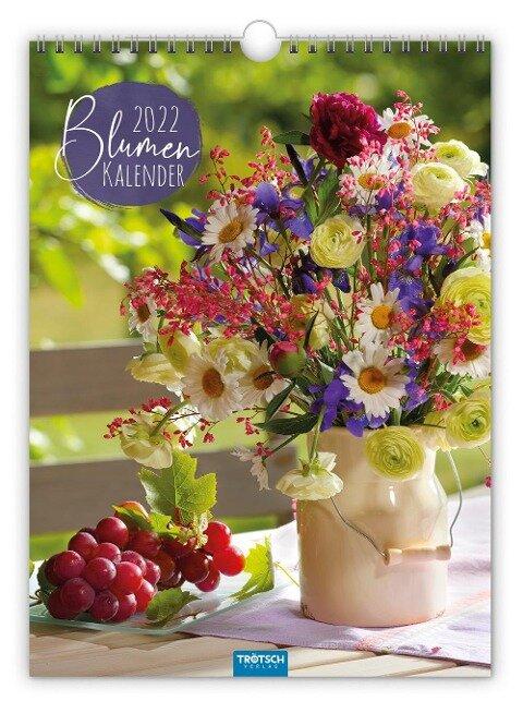 Blumenkalender 2022 -