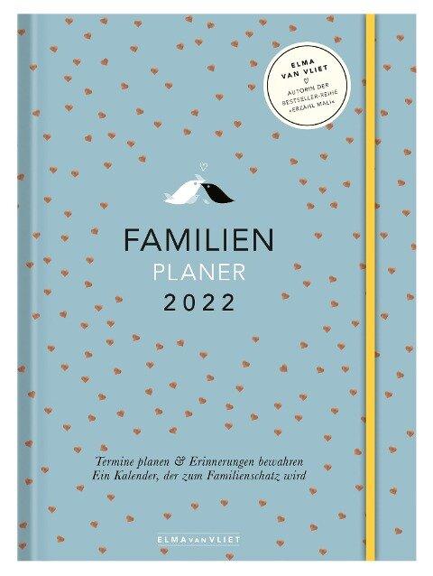 Elma van Vliet Familienplaner 2022 - Elma Van Vliet