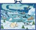 Wand-Adventskalender - Tiere der Arktis -