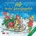 Rolfs bunter Adventskalender. CD mit Buch - Rolf Zuckowski, Julia Ginsbach