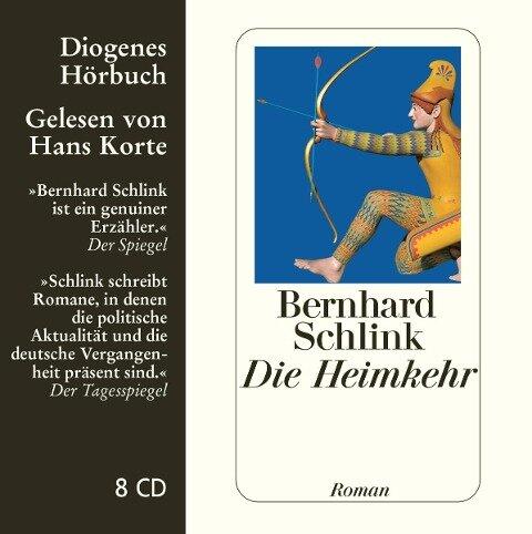 Die Heimkehr. 8 CDs - Bernhard Schlink