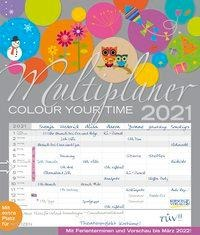 Multiplaner - Colour your time 2021 -