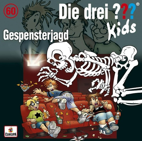 Die drei ??? Kids 60: Gespensterjagd (Audio-CD) - Ulf Blanck