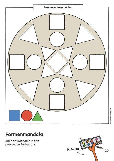 Kindergartenblock - Gemeinsamkeiten & Unterschiede ab 4 Jahre, A5-Block - Ulrike Maier