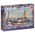 Portugiesische Fliesen aus Ferragudo - 1000 Teile Puzzle -