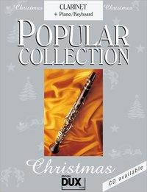 Popular Collection Christmas. Clarinet + Piano / Keyboard - Arturo Himmer-Perez