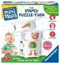 Mein Stapel-Puzzle-Turm ministeps -