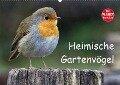 Heimische Gartenvögel (Wandkalender 2017 DIN A2 quer) - Dieter-M. Wilczek