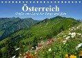 Österreich. Grüße vom Land der Berge und Seen (Tischkalender 2019 DIN A5 quer) - Elisabeth Stanzer
