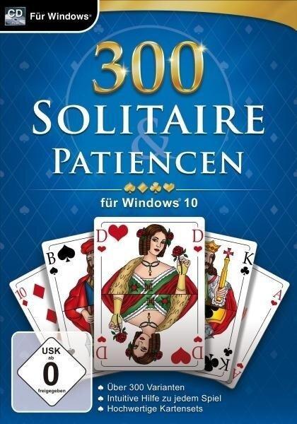 300 Solitaire & Patiencen. Für Windows Vista/7/8/10 -