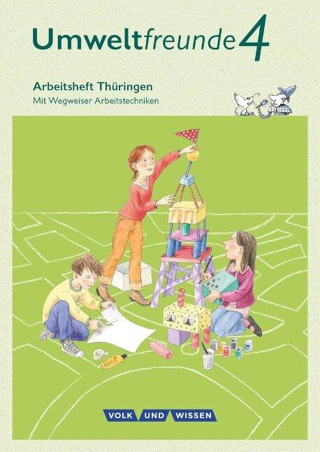 Umweltfreunde 4. Schuljahr - Thüringen - Arbeitsheft - Anke Gretzschel, Inge Koch