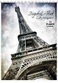 DIGITAL-ART Cityscapes (Tischkalender 2019 DIN A5 hoch) - Melanie Viola