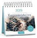 Katzenweisheiten 2019. Postkartenkalender -