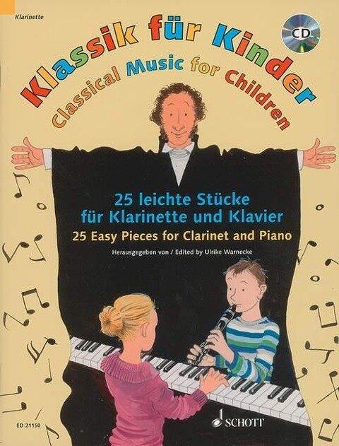 Klassik für Kinder. Klarinette in B und Klavier -