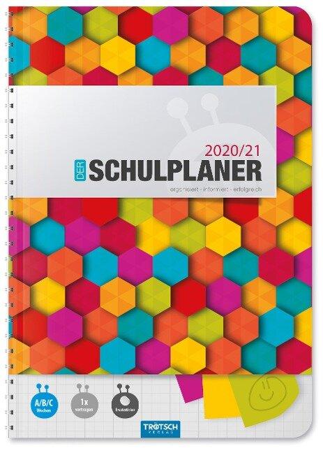 """Trötsch Schulplaner """"Bunt"""" 2020/2021 -"""