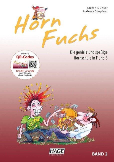 Horn Fuchs Band 2 mit CD - Stefan Dünser, Andreas Stopfner