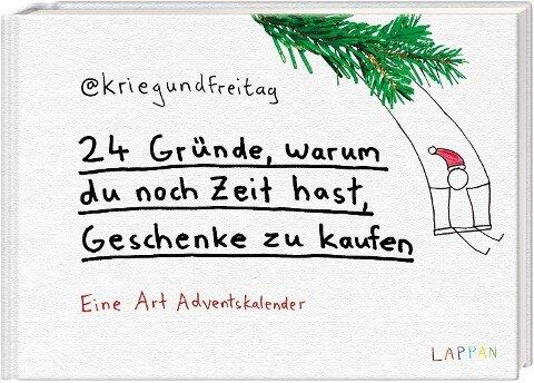 24 Gründe, warum du noch Zeit hast, Geschenke zu kaufen - @Kriegundfreitag