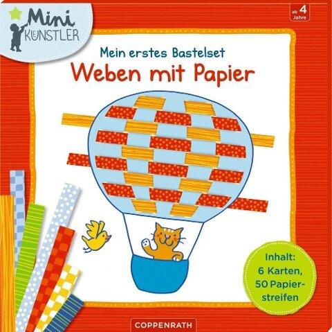 Mein erstes Bastelset: Weben mit Papier -