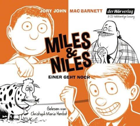 Miles & Niles - Einer geht noch - Jory John, Mac Barnett