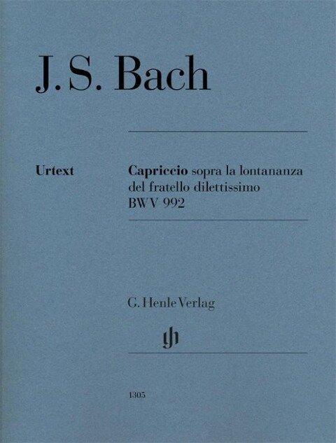 Capriccio sopra la lontananza del fratro dilettissimo BWV 992 - Johann Sebastian Bach